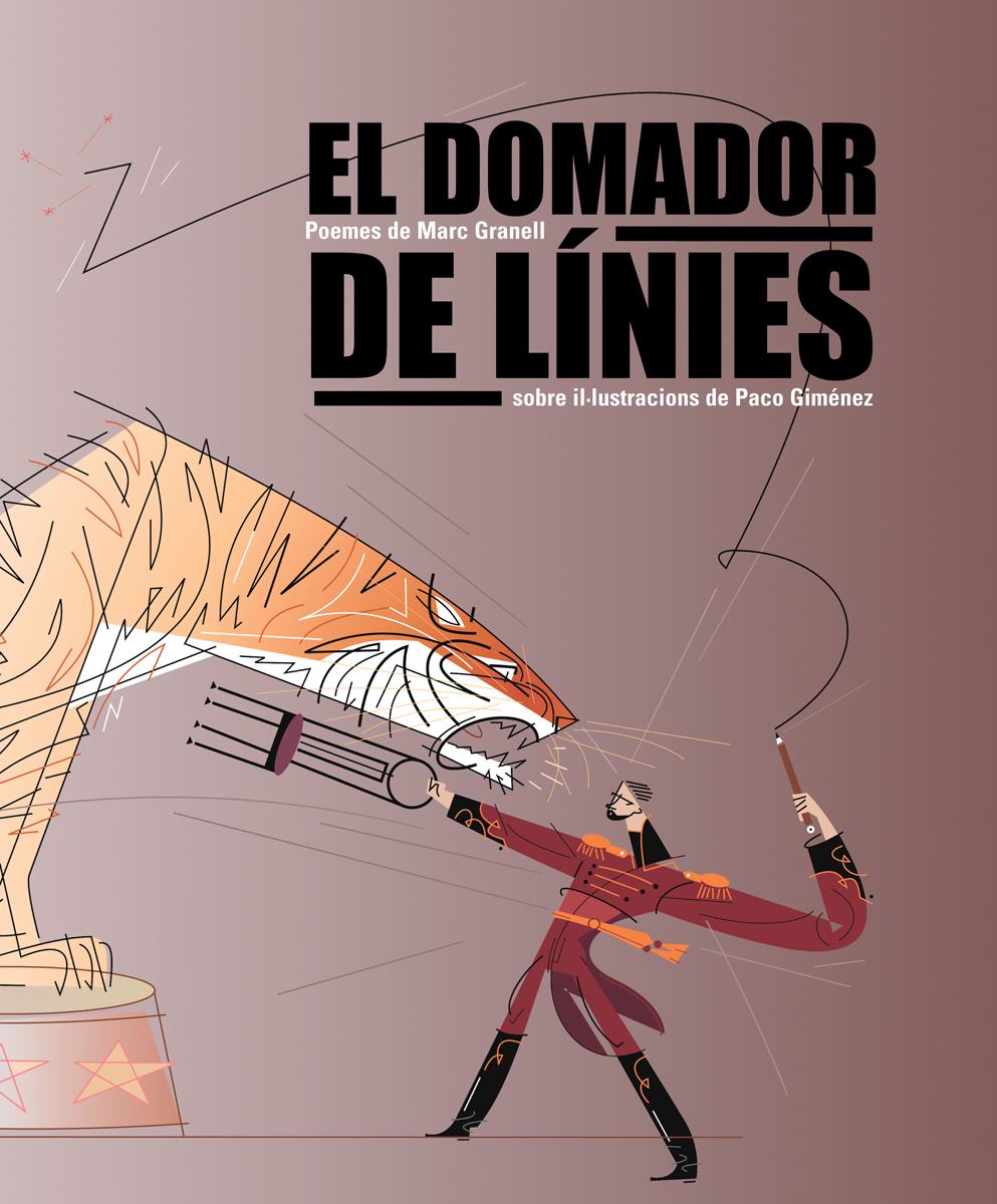 01- Portada - 'El-domador de inies', Marc Granell, Paco Giménez, Ed. Perifèric