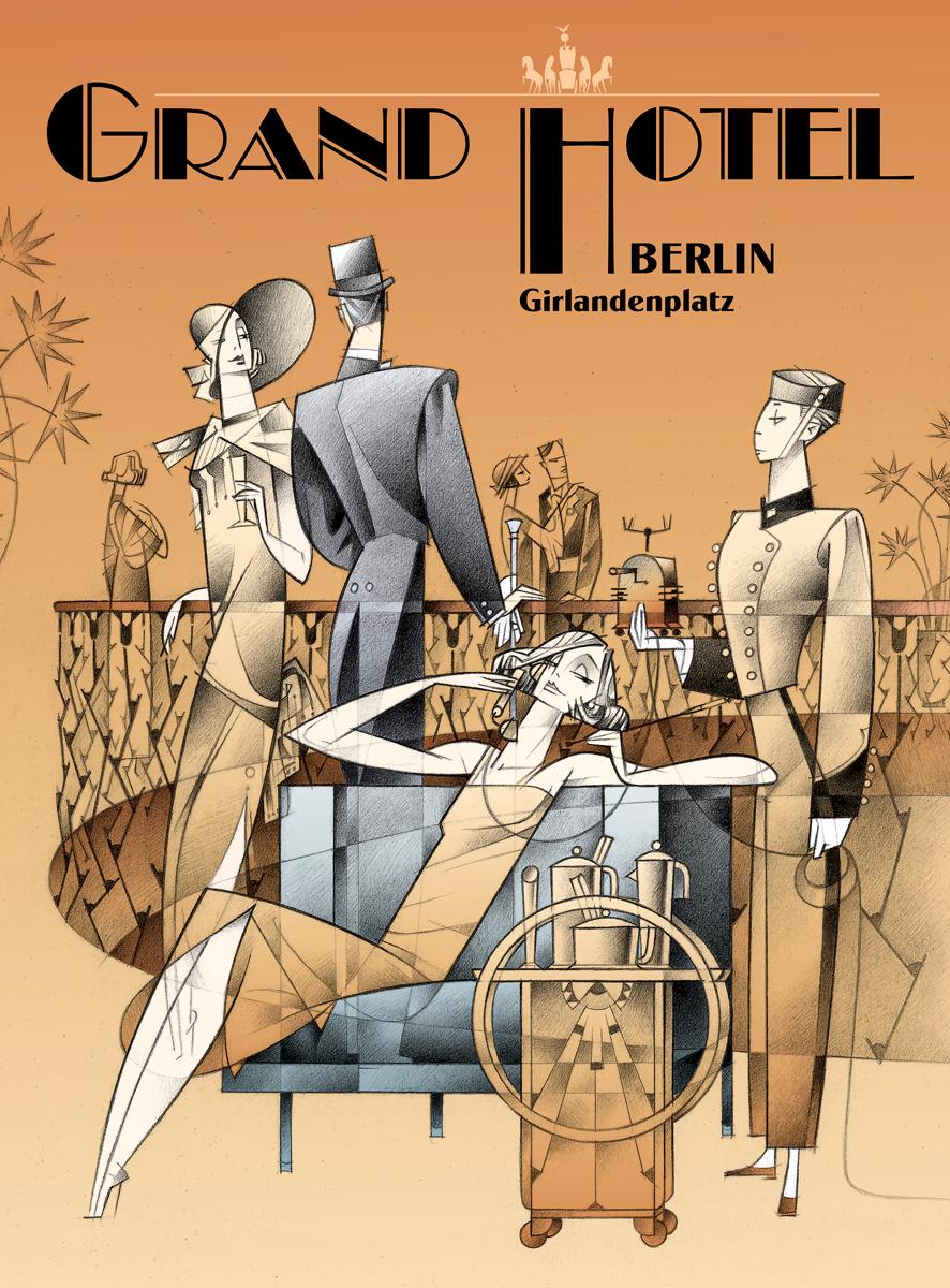 02- Grand Hotel, de Paco Giménez, exposición 'Los hoteles de a imaginación', MuVIM