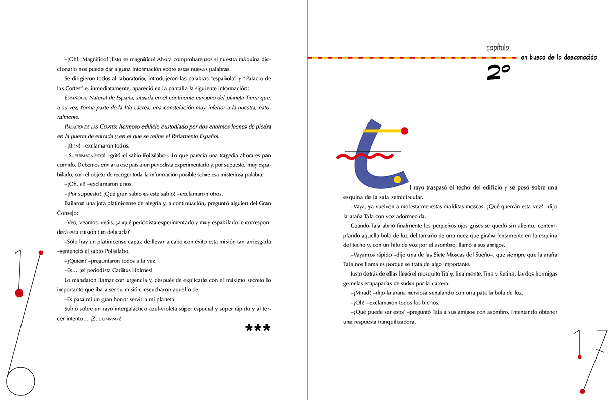 Una misión para Carlitus Holmes, Fundamentos de la Constitución Española, diseño e ilustraciónPaco Giménez