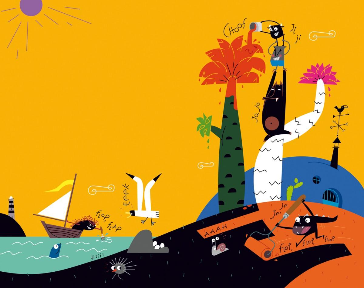 03- La fiesta, 'Fiesta-monstruosa', Paco Giménez, Carles Cano, Ed. Bromera