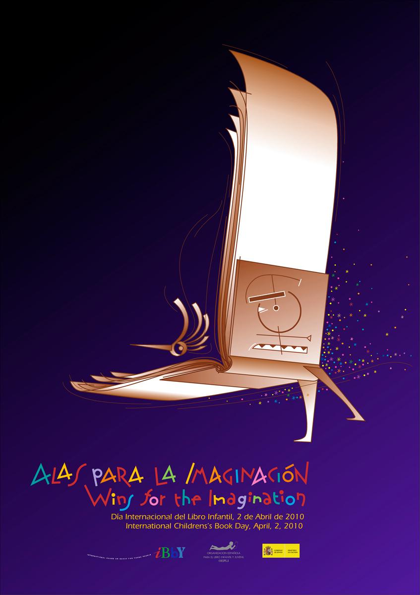 05- Cartel para concurso del Dia-Internacional del Libro, iBBY