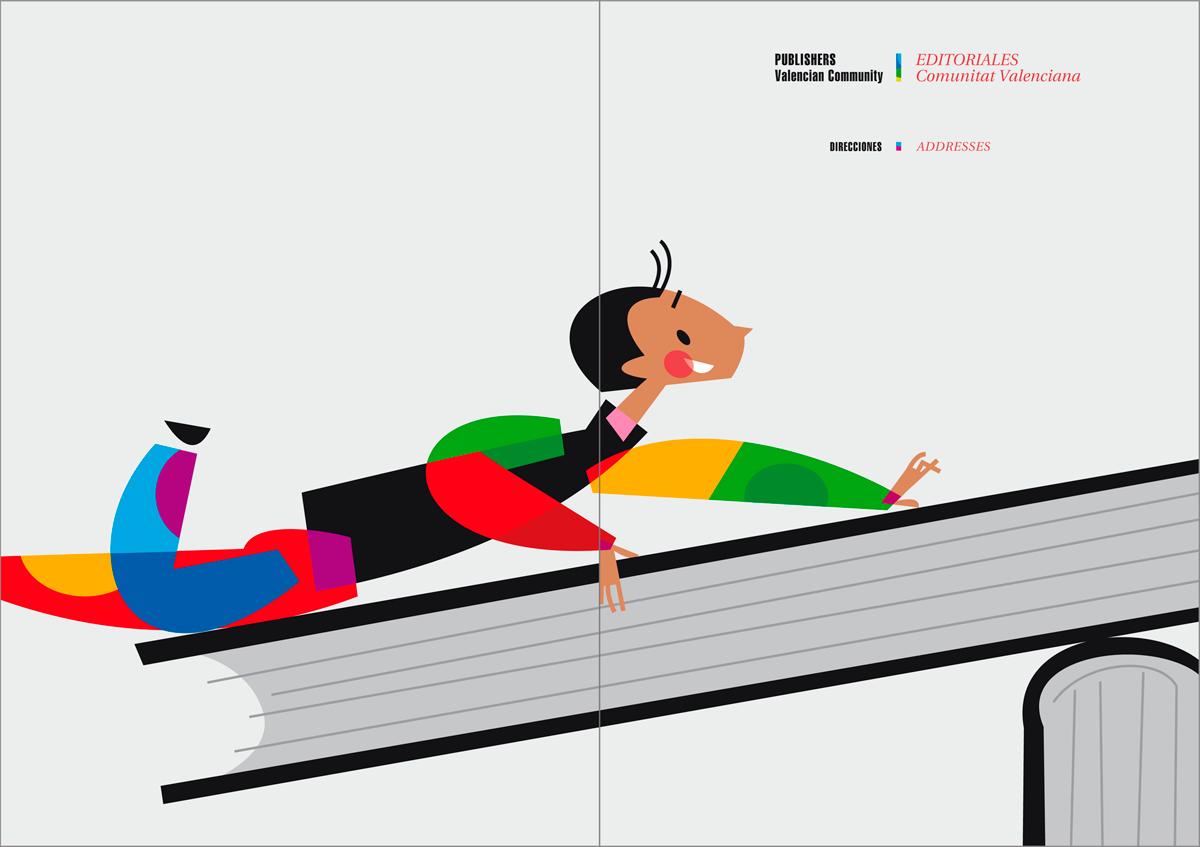 Anexo - Catálogo de libros infantiles y juveniles, Bolonia 2010, diseño Paco Giménez