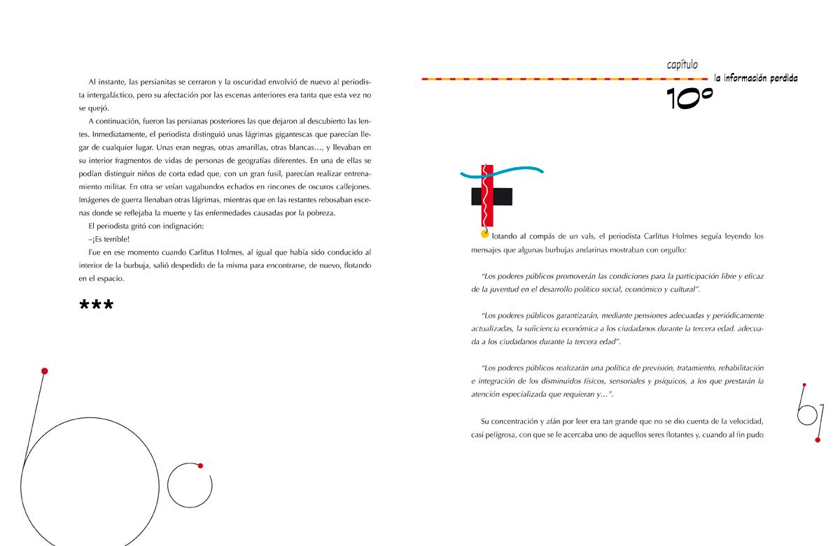 Una misión para Carlitus Holmes, Fundamentos de la Constitución Española, diseño e ilustración Paco Giménez