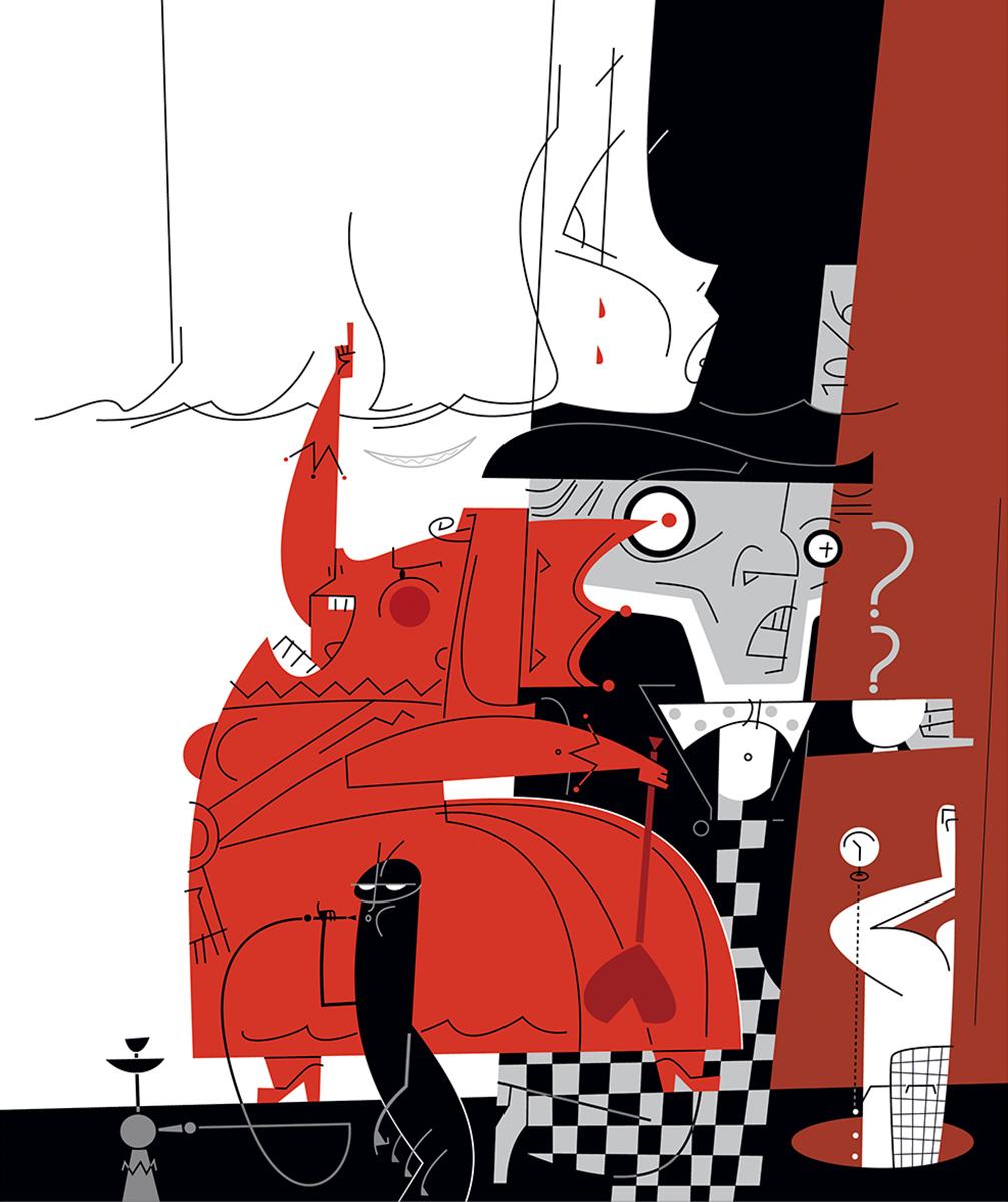 Alicia Maravillas ilustracion Alice Wonderland Paco Gimenez Gimenez