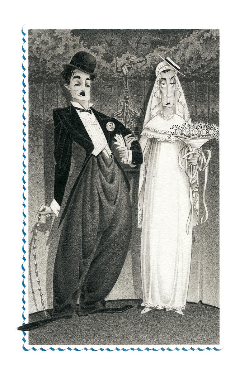 06- Chaplin y Keaton, '¿En qué se diferencian el blanco y el negro?', Carles Cano, Paco Giménez, Ed. Aura