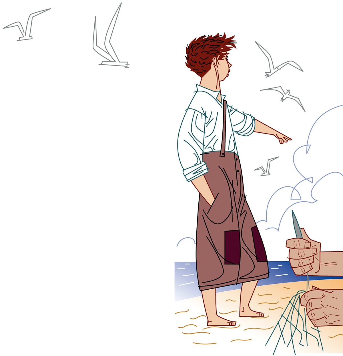 L'illa de les foques, Llucià Vallés, Paco Gimenez ilustracion, Timoner 6, SM