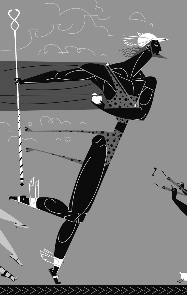 08- Hermes, 'Maleïda poma' (Mito de la manzana de oro), Anna Ballester, Paco Giménez, Ed. Bromera