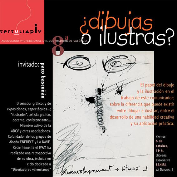 Tertulia-APIV-dibujar-ilustrar-Paco-Bascunan-diseno-Paco-Gimenez