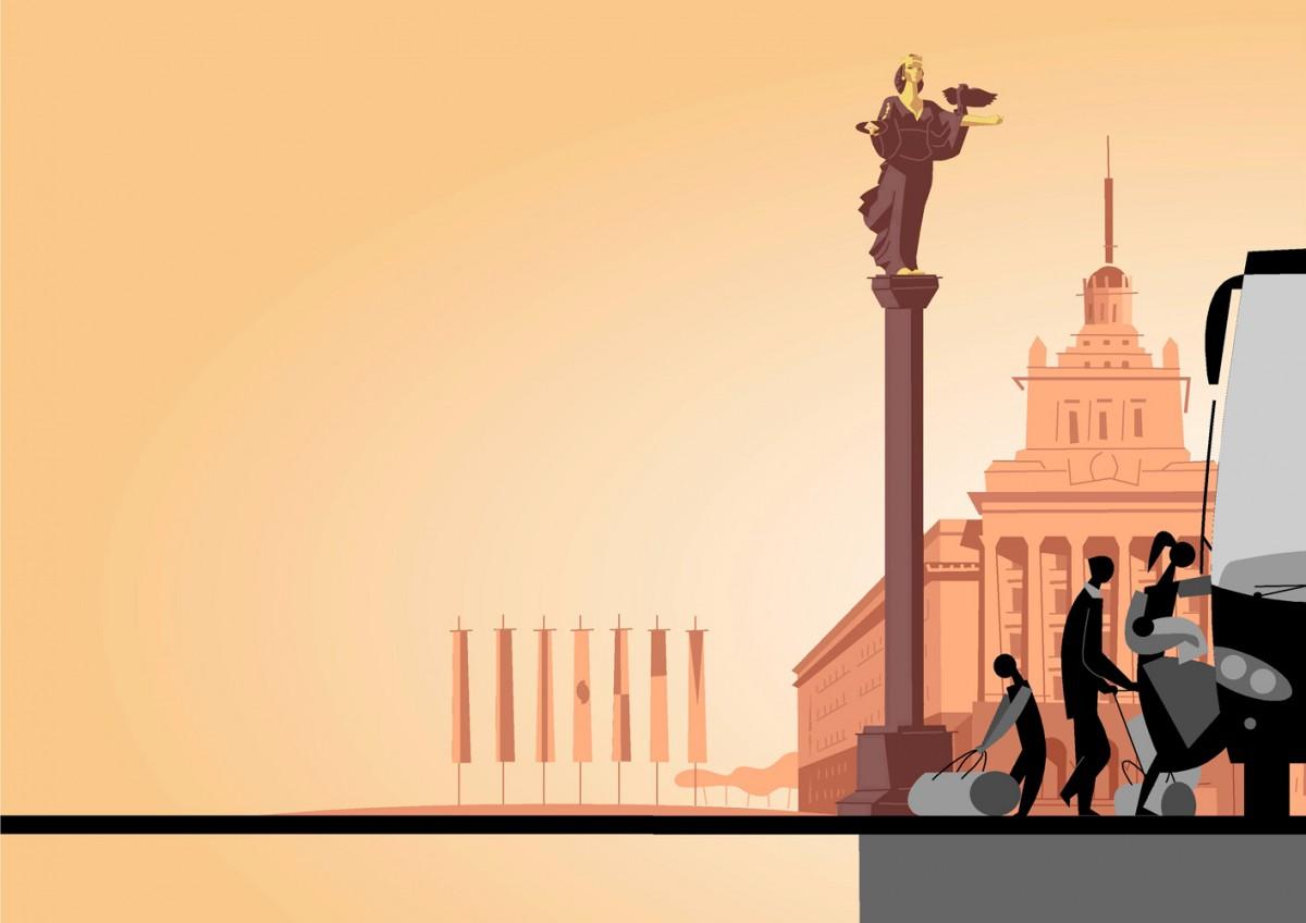 1- Sofía, Bulgaria, 'Lungo Drom. Curso de formación para el profesorado con alumnado gitano del Este de Europa', Paco Giménez. iniciativa EQUAL, Unión Europea