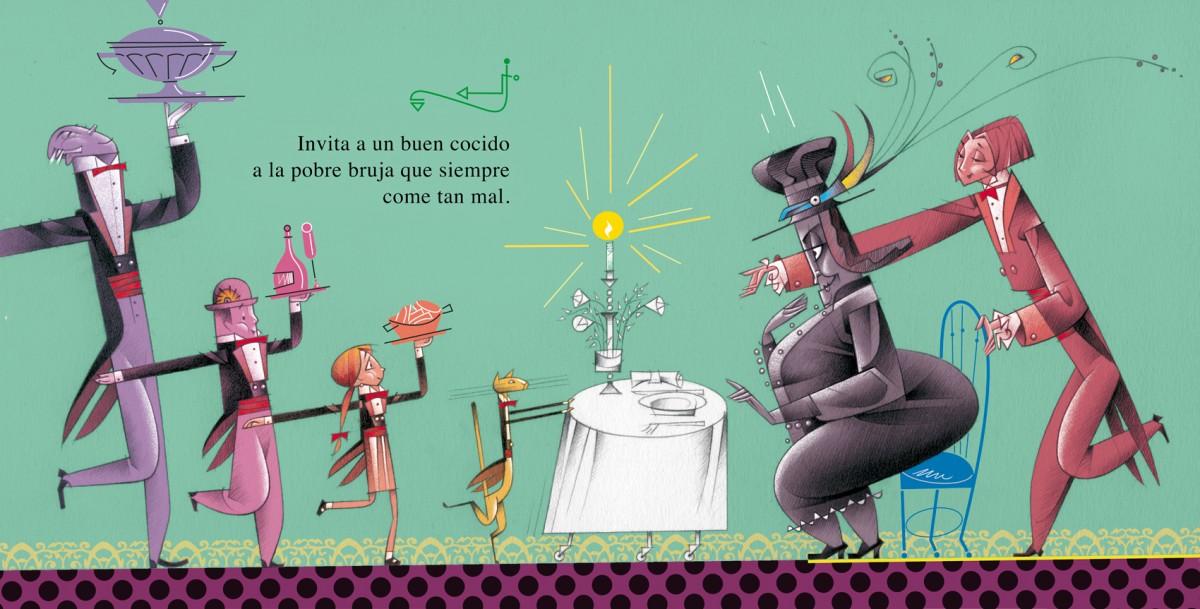 Bruja del chocolate,