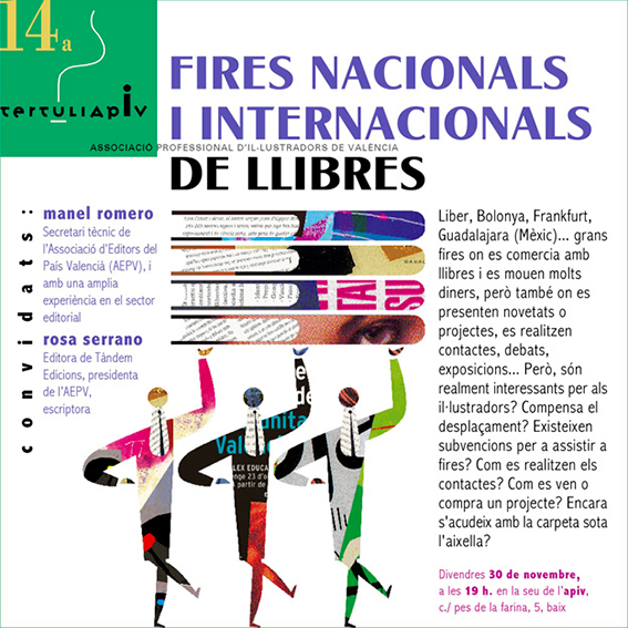 Tertulia-APIV-fires-llibre-internacionals-Manel-Romero-Rosa-Serrano-disseny-Paco-Gimenez