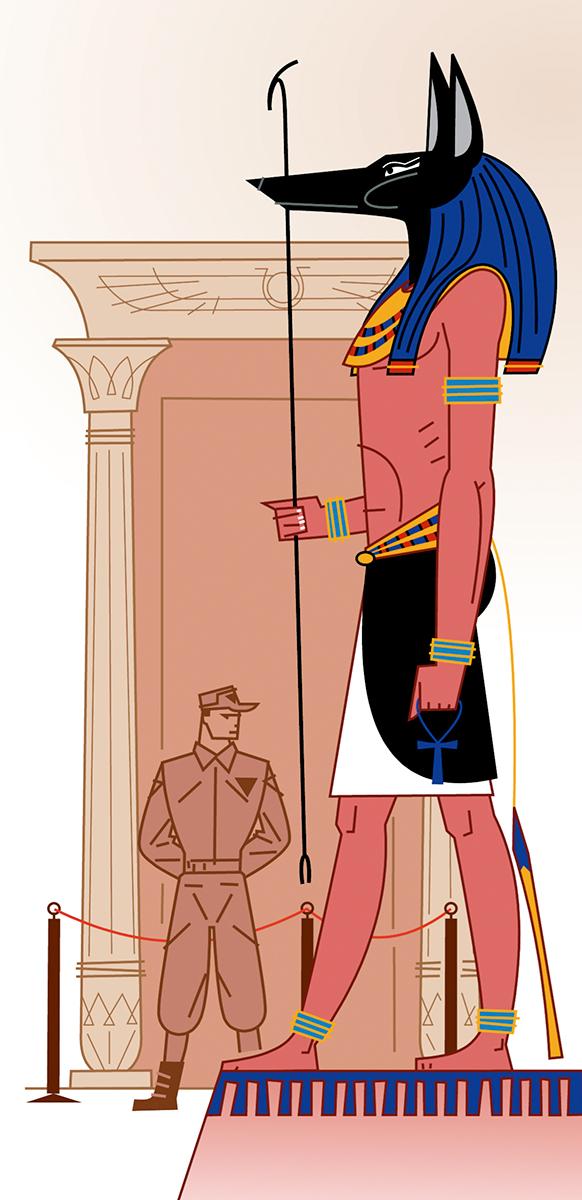 Robatori sala de Tutankamon, Paco Gimenez ilustracion, Timoner 6, SM