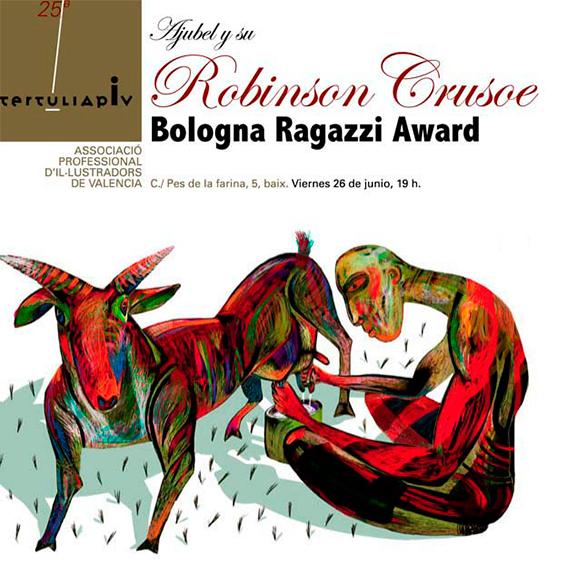 Tertulia-APIV-Robinson-Crusoe-Ajubel-Ragazzi-Award-diseno-Paco-Gimenez