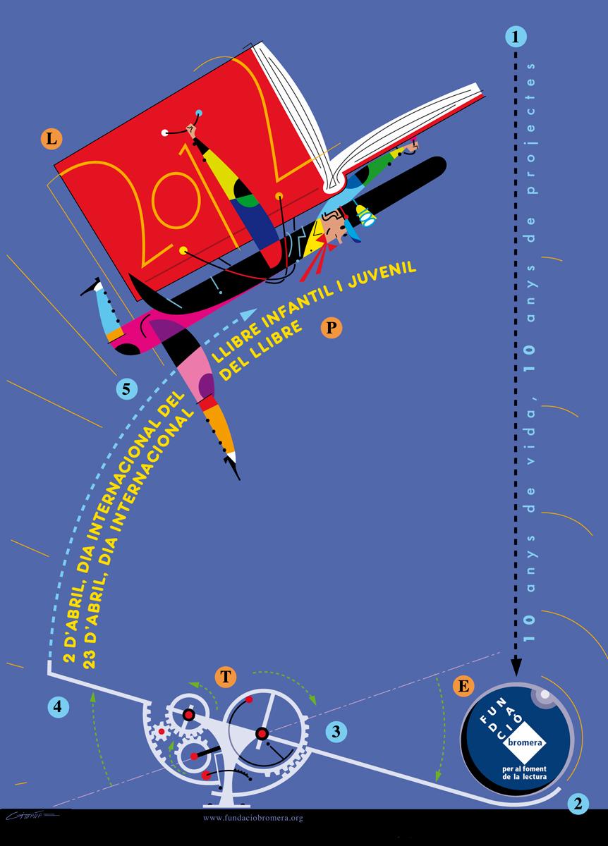 quadern Dia internacional llibre, Fundacio Bromera, disseny Paco Giménez