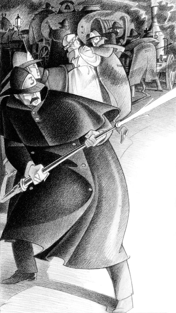 2- Incendio, 'Sherlock Holmes i el constructor de Norwood', Arthur Conan Doyle, Paco Giménez, Ed.Bromera