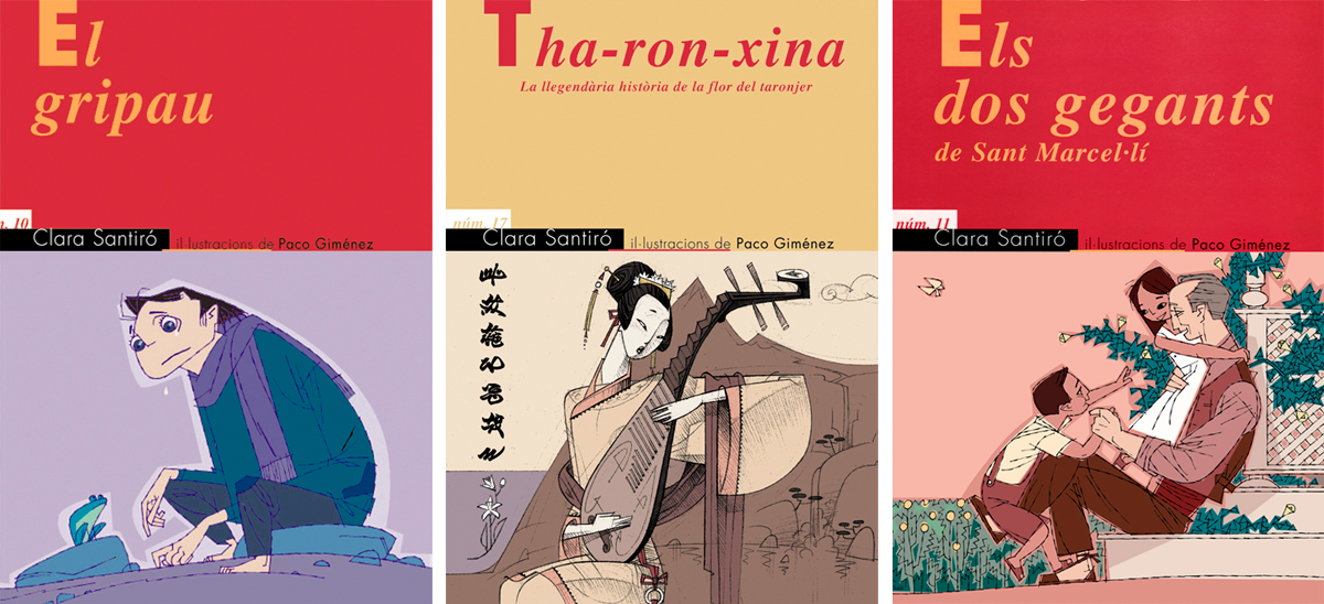 3 portadas de Clara Santiro y Paco Giménez