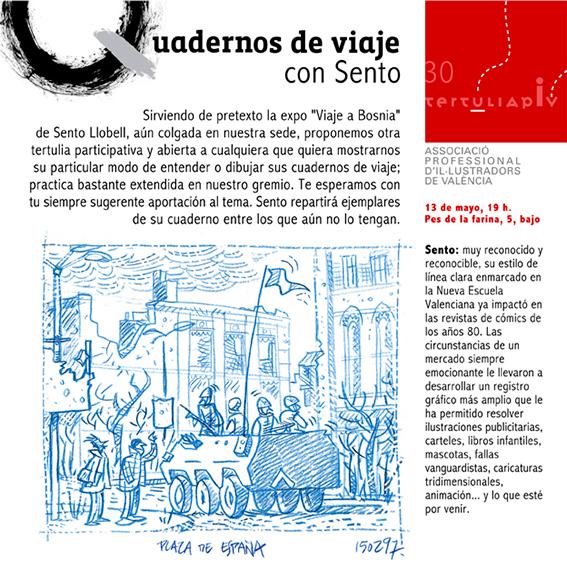 Tertulia-APIV-cuadernos-viaje-Sento-Llobell-diseno-Paco-Gimenez