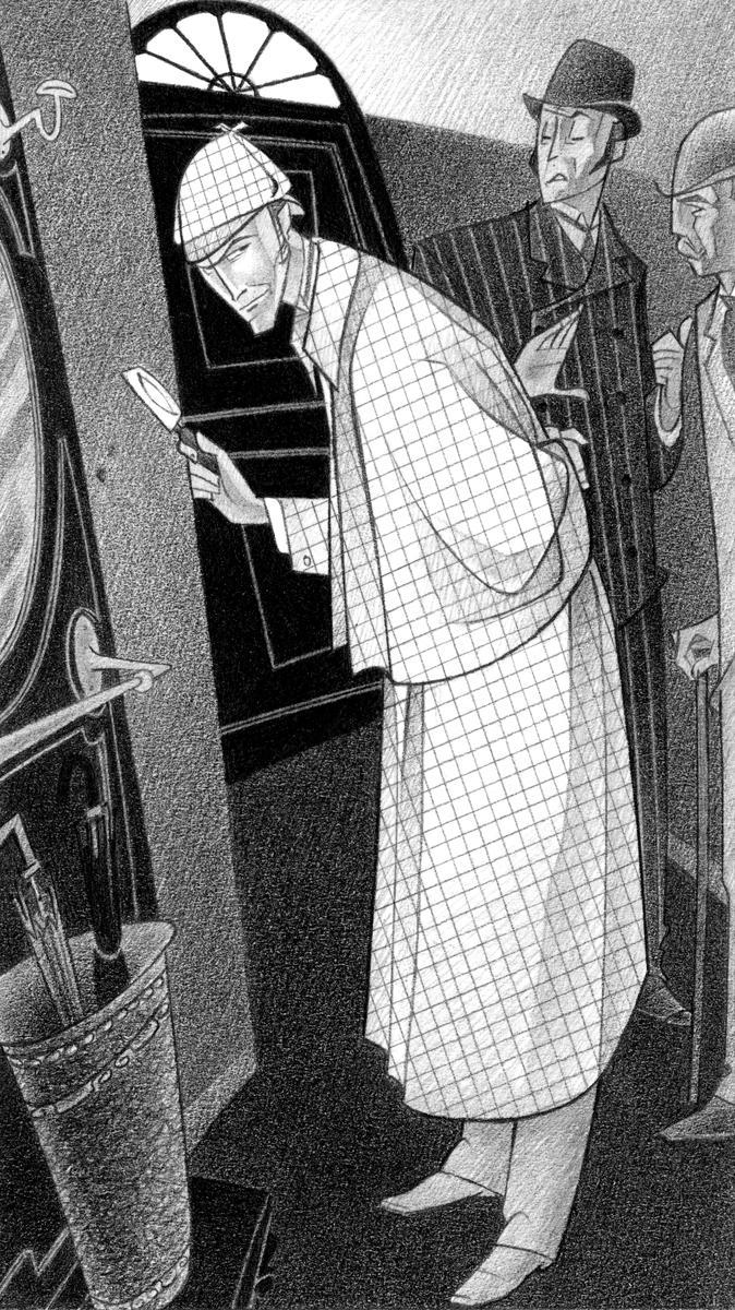 5- La huella, 'Sherlock Holmes i el constructor de Norwood', Arthur Conan Doyle, Paco Giménez, Ed.Bromera