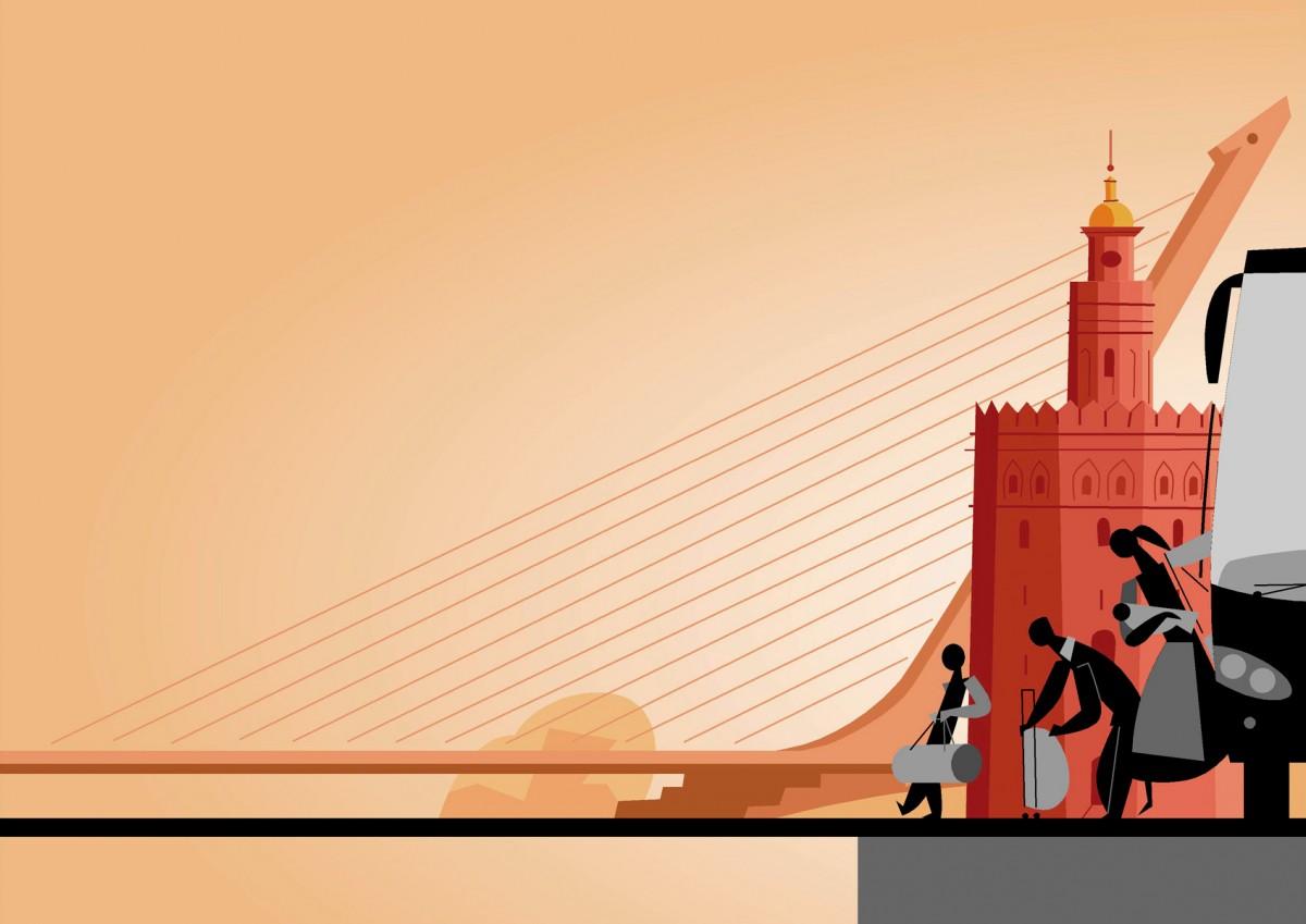 6- Sevilla, España, 'Lungo Drom. Curso de formación para el profesorado con alumnado gitano del Este de Europa', Paco Giménez. iniciativa EQUAL, Unión Europea