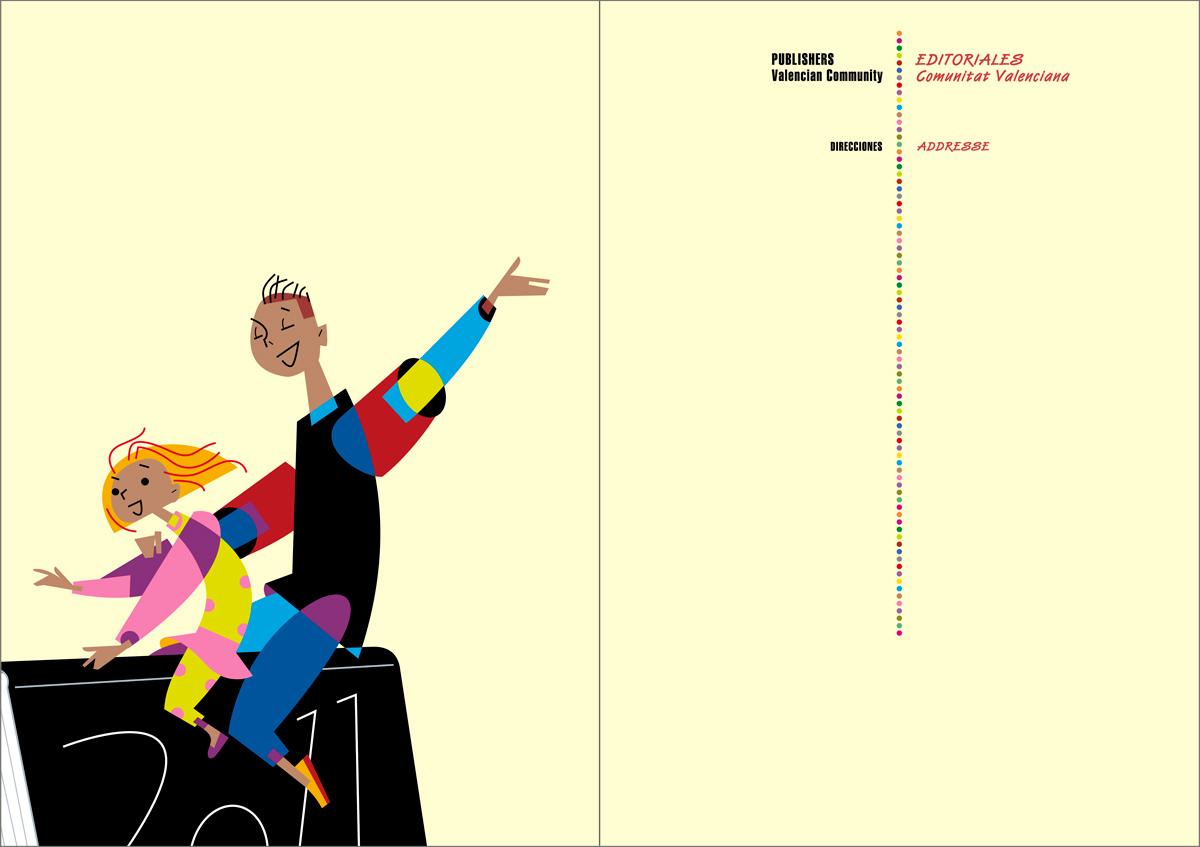 Anexo - Catálogo de libros infantiles y juveniles, Bolonia 2011, diseño Paco Giménez