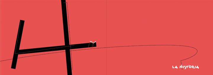 CAPITULAR Historia, libro 50 ferias del libro de Valencia, diseño Paco Giménez