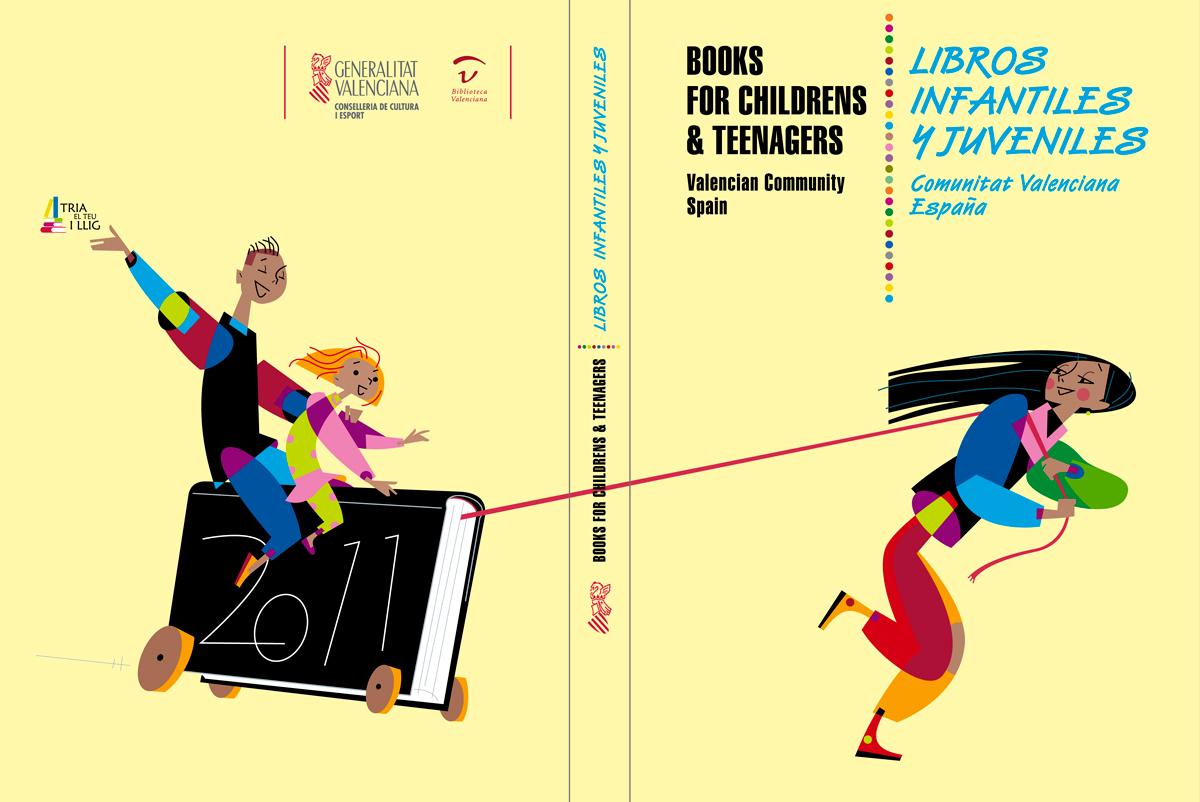 Catálogo de libros infantiles y juveniles, Feria de Bolonia 201, diseño Paco Giménez
