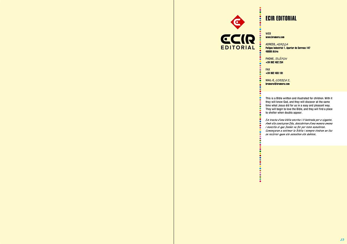 Editorial - Catálogo de libros infantiles y juveniles, Bolonia 2011