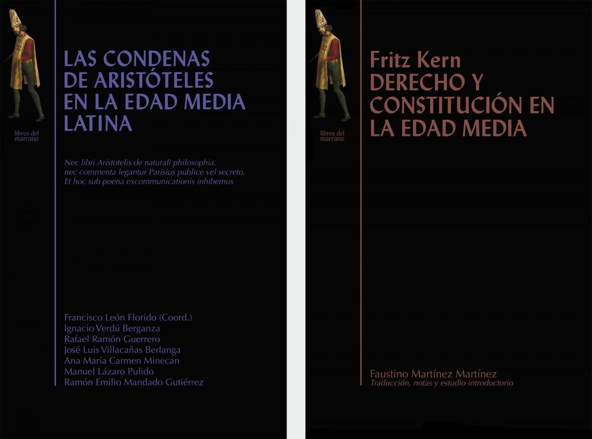 Libros del Marrano 3 y 5, diseño Paco Giménez