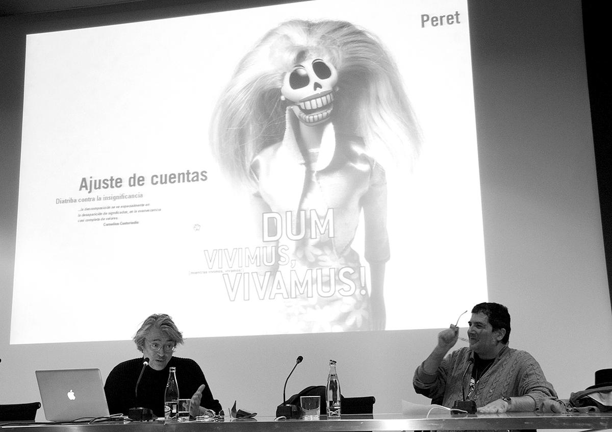Peret-Luis-Armand-Jornadas-sobre-ilustracion-grafica-Muvim-foto-Veronica-Leonetti