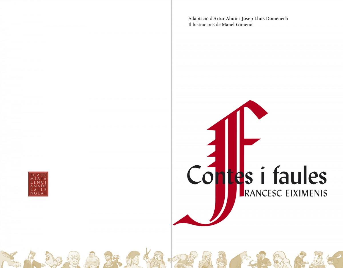 Portadella, Contes i faules, Francesc Eiximenis, disseny Paco Giménez