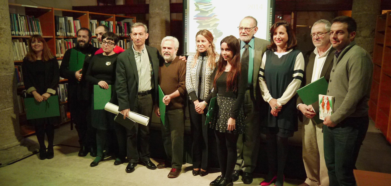 Premis als llibres millor editats de 2013. Lliurament 2014, premiats i autoritats