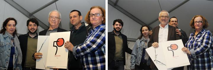 Rafa Coloma + Jesús Figuerola - 50 aniversario Fira del Llibre de València - Gremi de Llibrers