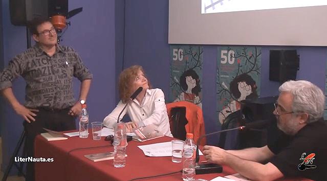 Reportaje por Liternauta -- Fira del Llibre - 29 poemes - Carles Cano + Paco Gimenez - Ed. Bromera