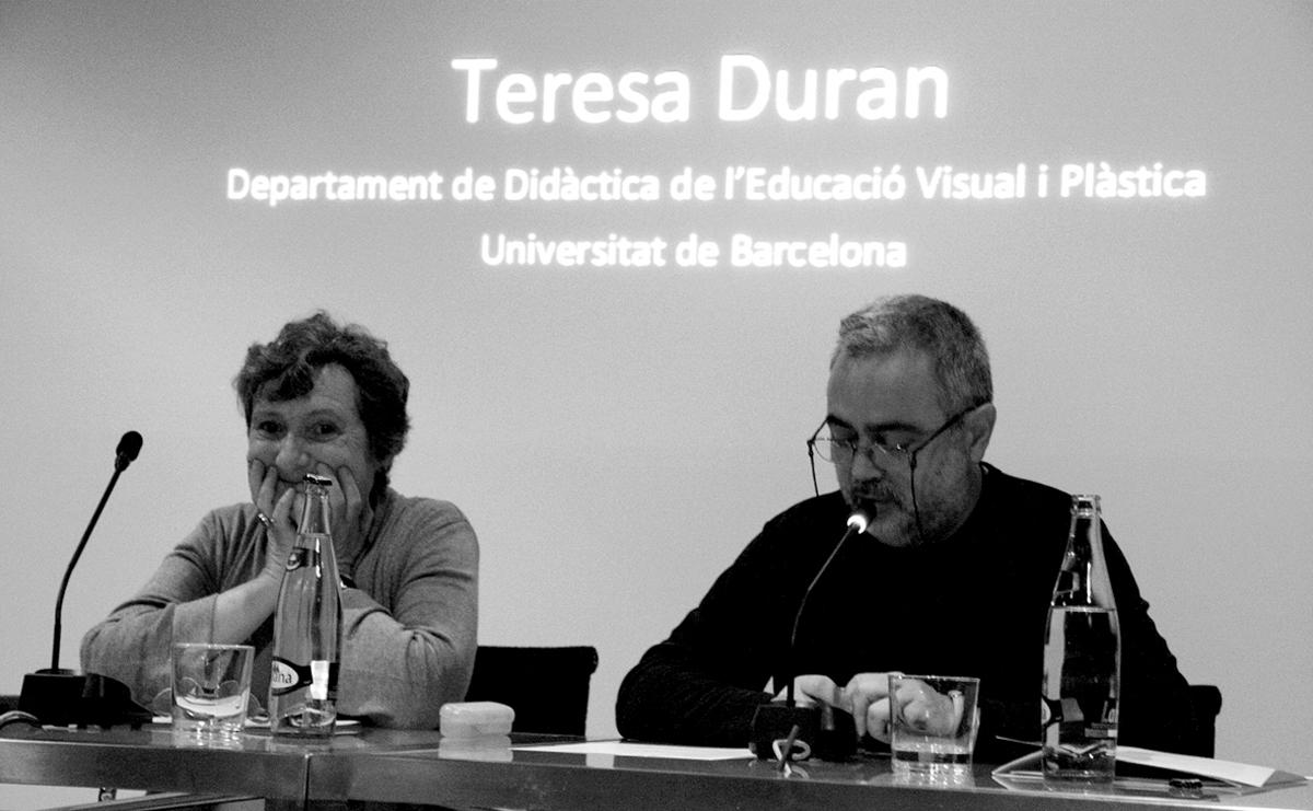 Teresa-Duran-Paco-Gimenez-Jornadas-sobre-ilustracion-grafica-Muvim-foto-Veronica-Leonetti