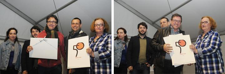 Vicent Cortés + Carles Cano. 50 aniversario Fira del Llibre de Valencia, Gremi de Llibrers