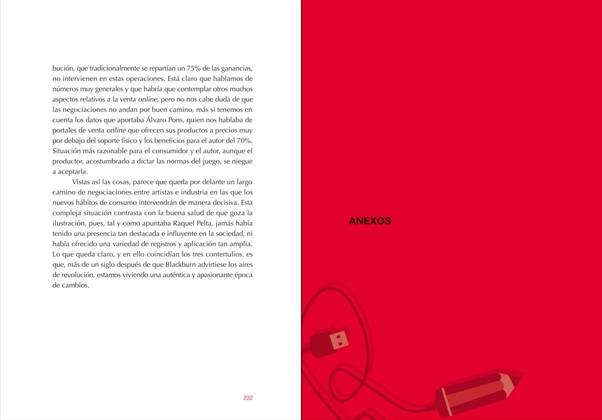 anexos, Ilustración gráfica. Nuevos escenarios (Memoria de las 'Jornadas sobre ilustración gráfica' MuVIM), diseño Paco Giménez