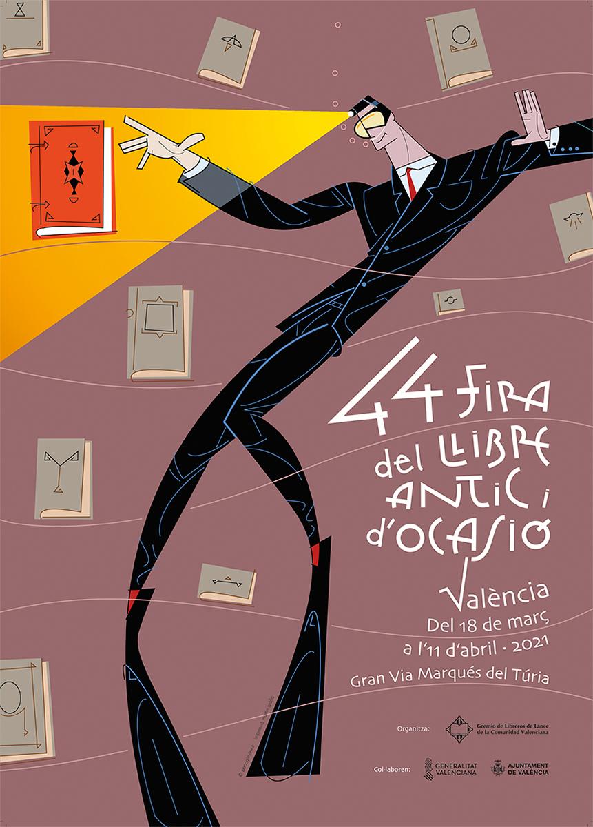 cartell-fira-llibre-antic-i-ocasio-valencia-2021-disseny-paco-gimenez-1200-px