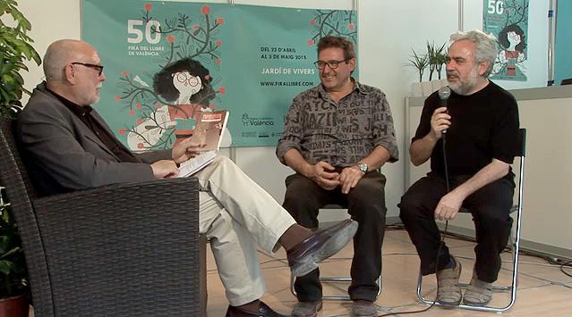 Entrevista con Manolo Gil - Fira del Llibre - 29 poemes per al dia a dia i...- Carles Cano + Paco Giménez - Ed. Bromera - re