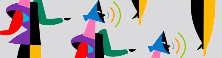 Marca e imagen gráfica de los narradores amb narradors organitzats