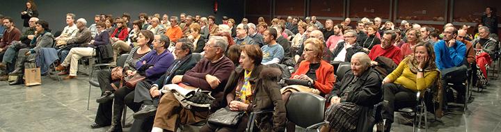 Éxito de público en la presentación de «El domador de líneas»