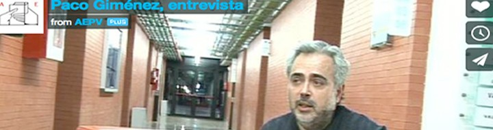Vídeo entrevista a Paco Giménez