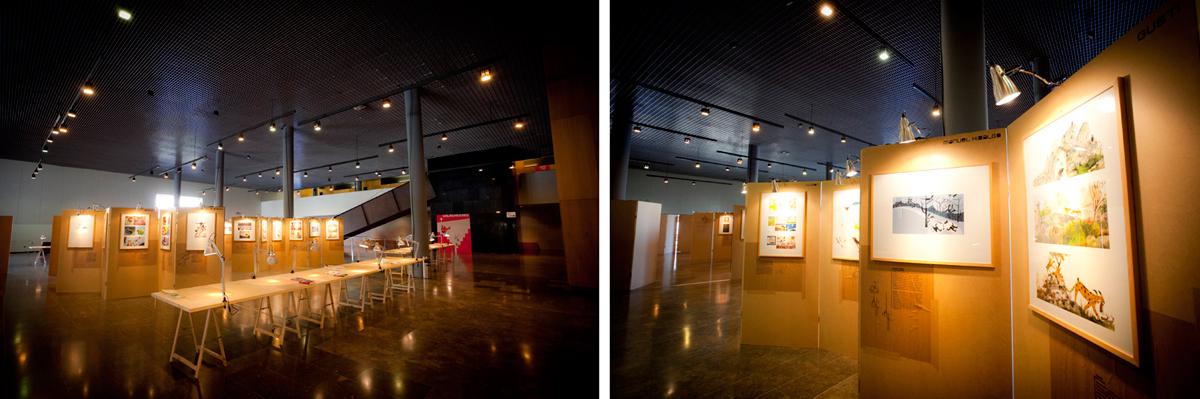 Exposición '100 de hoy' Congreso IBBY 2010, Santiago de Compostela