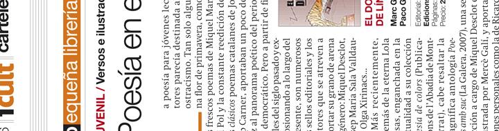 «El domador de línies» en 'El Periódico'