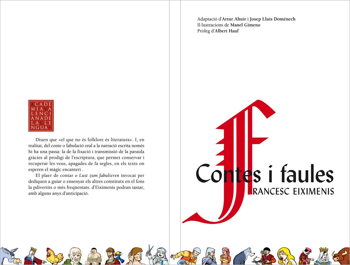 Contes i faules, Francesc Eiximenis, disseny Paco Giménez