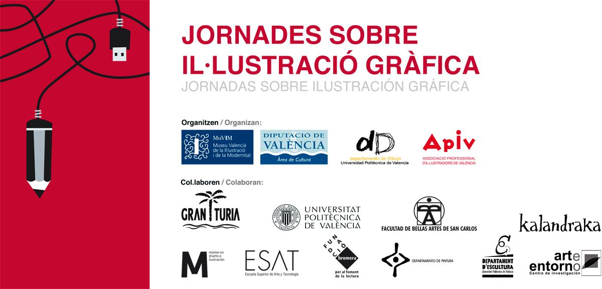 pancarta-Jornadas-sobre-ilustracion-grafica-Muvim