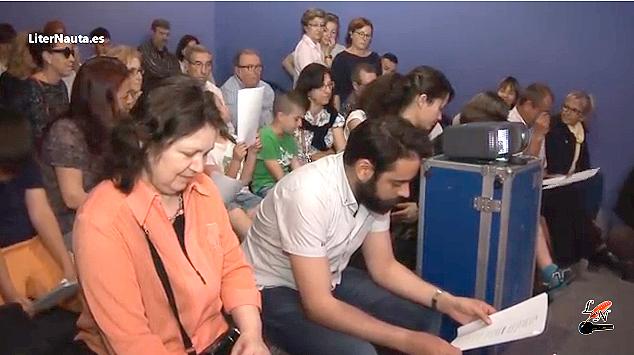 publico-presentacion--29-poemas-Fira-del-Llibre--Carles-Cano-Paco-Gimenez-Anna-Ballester--Ed-Bromera-e