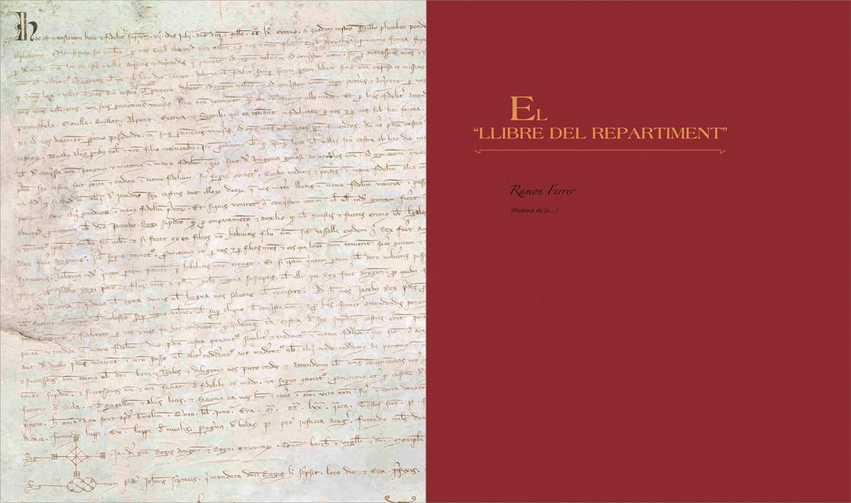 separador - Llibre del Repartiment (Jaume I), diseño Paco Giménez 3